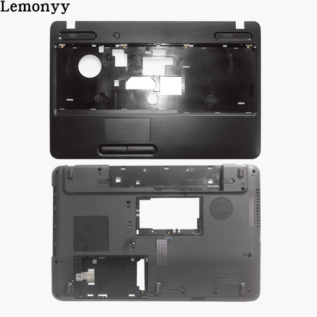 New for Toshiba Satellite C650 C655 C655D Palmrest COVER no touchpad /Laptop Bottom Base Case Cover
