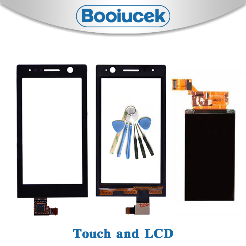 High Quality 3.5'' For <font><b>Sony</b></font> Xperia U ST25i <font><b>ST25</b></font> ST25a Lcd Display With Touch Screen Digitizer Sensor Replacement or repair image