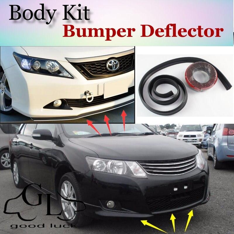 For Toyota Allion Premio Bumper Lip Front Spoiler For