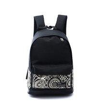 2016 New style sacs d'école filles unisexe fleurs loisirs toile sac à dos à dos en toile hommes voyage sacs femmes sacs à dos