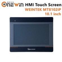 Weinview mt8102ip hmi tela de toque 10.1 polegada 1024*600 usb ethernet nova interface da máquina humana exibição