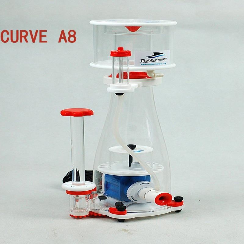 24V Bubble-magus Curve A8 Aquarium Internal Protein Skimmer Sump Pump Saltwater Marine Reef Needle Wheel Venturi Pump 700-900L