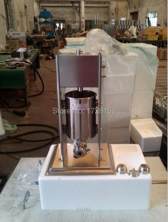 7L  Capactity stainless steel Commercial churro maker churros maker machine commercial 5l churro maker machine including 6l fryer