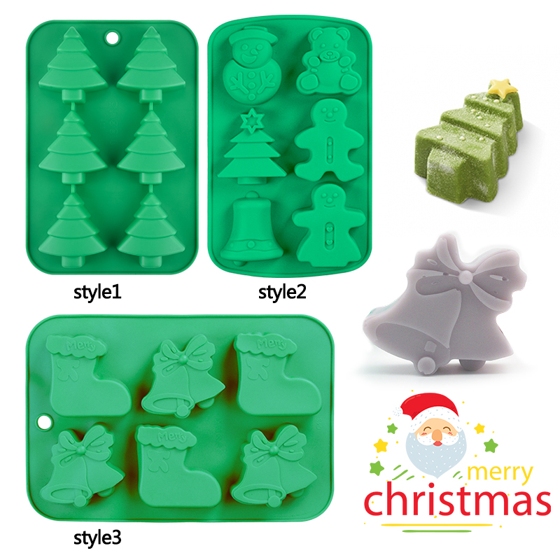 SJ 8Shaped Soap Mold Silicone Tray Making Christmas Tree Gingerbread Man DIY Soap Mold Decorations Household Christmas DesignSJ 8Shaped Soap Mold Silicone Tray Making Christmas Tree Gingerbread Man DIY Soap Mold Decorations Household Christmas Design