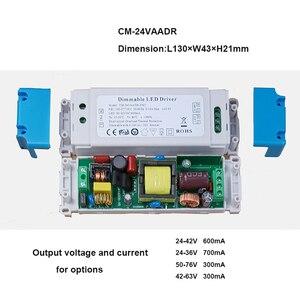 Image 2 - Диммируемый светодиодный драйвер, 5 70 Вт, 100 277 В, 0 10 В/1 10 В, изолированный блок питания с постоянным током 0,3 1,5a