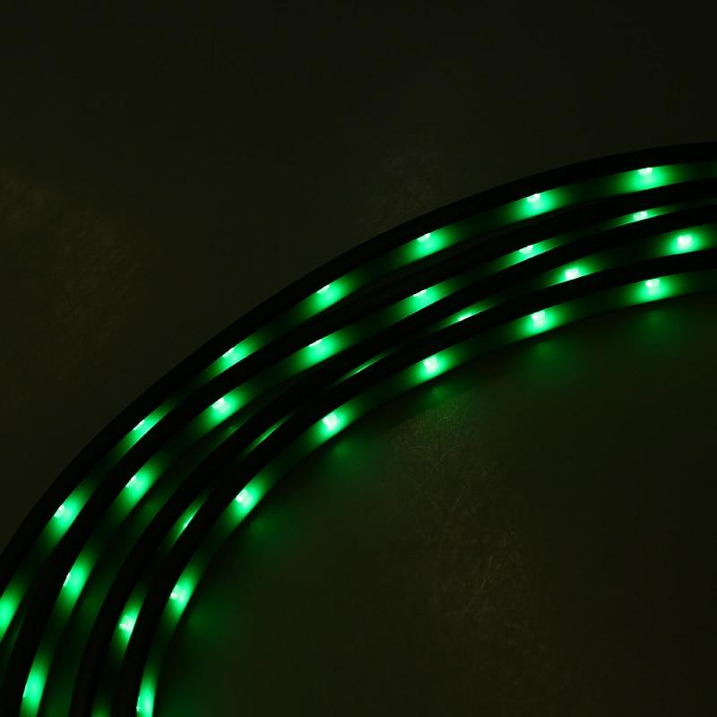 possbay rgb wireless remote control car flexible led underglow