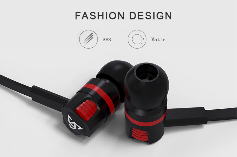 Original Brand Earbuds JM26 Headphone Noise Isolating in ear Earphone Headset with Mic for Mobile phone Universal for MP4 12