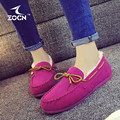 ZOCN High Quality Fashion 2016 Ballet Shoes Woman Warm Winter Casual Shoes Breathable Flats Nurse Shoes Slip-On Zapatos Mujer