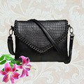 Hot Women Envelope bag black women leather purses and handbags small shoulder bags cute lady hand women messenger bags