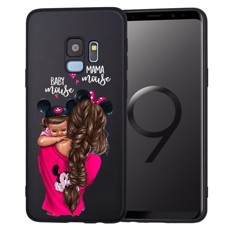 Чехол для телефона для Samsung Galaxy S9, S8, S10 Plus, S7, S6 Edge, S10 Lite, Note9, 8, семейный чехол, Etui
