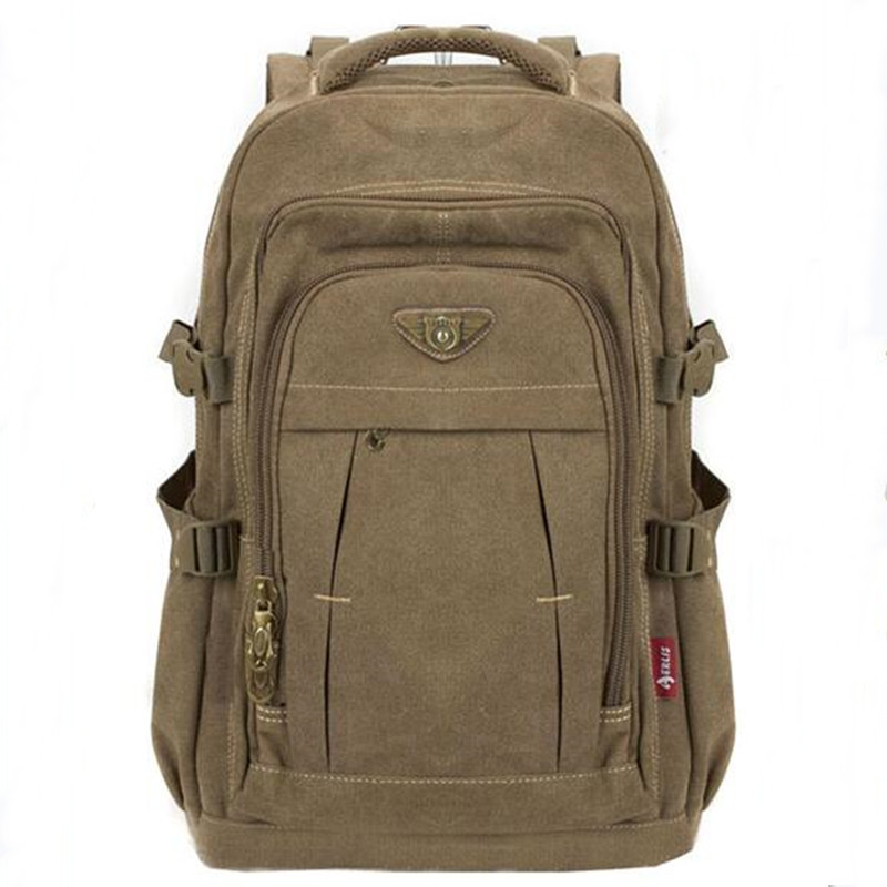 Men Backpack Fashion Canvas Vintage Backpack Leisure Shoulder Travel Male School Bags Laptop Computers Unisex Rucksacks Bagpack