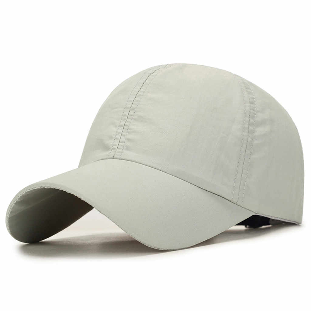 KANCOOLD Solid Summer Cap Branded Baseball Cap Men Women Dad Cap Bone Snapback Hats For Men Bones Masculino
