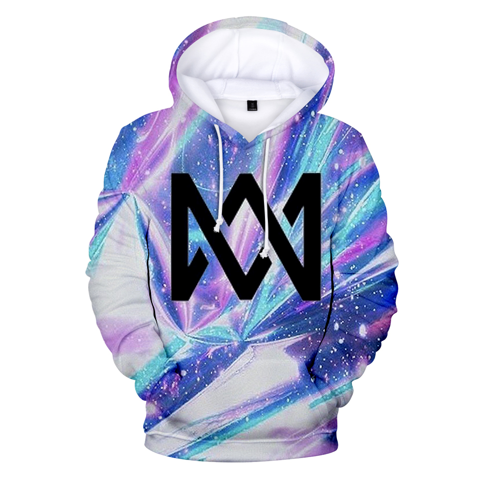 2019 Hot Hoodie Marcus And Martinus 3D Hoodies Sweatshirts Print Harajuku Women/Men Marcus Sweatshirt Oversized Hoodies Coat