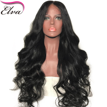 Elva Hair Body Wave Lace Front Human Hair Wigs For Black Women Natural Hairline With Baby Hair Brazilian Remy Hair Glueless Wigs