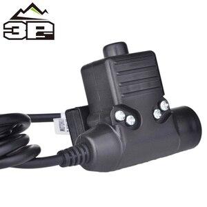 Image 3 - חדש Airsoft U94 PTT ציוד טקטי אוזניות עבור KENWOOD/מידלנד מכשיר קשר BaoFeng UV 82 רדיו Softair אוזניות WZ113