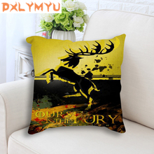 Game of Thrones Pillow Decorative Cushion For Home Decoration Movie Poster Waist Cushion Sofa Throw Pillow 45x45 cm цены