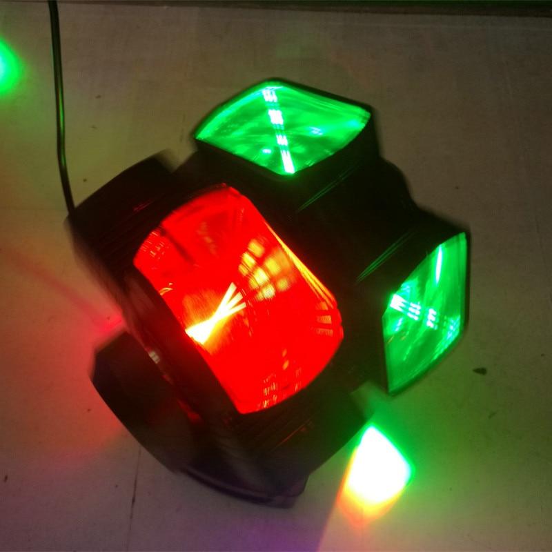 цена на 120W LED Stage Light LED Headhead Light Rotation Light Laser Light Bar Lantern Ballroom KTV Flash