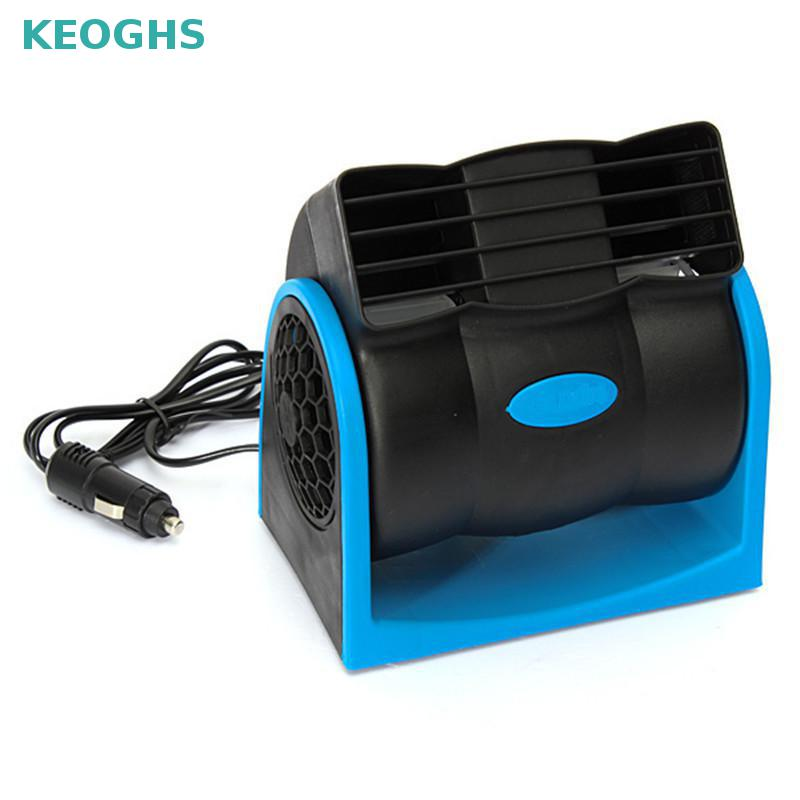 2017 New Creative Car Vehicle Truck Cooling Air Fan 12v Adjustable Silent Cooler Speed With Car Chagrer Plug Cable Free Shipping free shipping servo 6038 g0638d12b9zp 00 12v 1 06a cooling fan 60x60x38mm