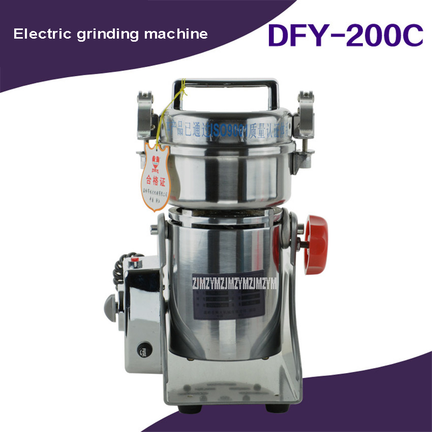 200g Herb Herbal Medicine Grinder Machine Home Use 1000W Portable Small Electric Automatic Grinding Machine 25000r/min DFY-200C200g Herb Herbal Medicine Grinder Machine Home Use 1000W Portable Small Electric Automatic Grinding Machine 25000r/min DFY-200C