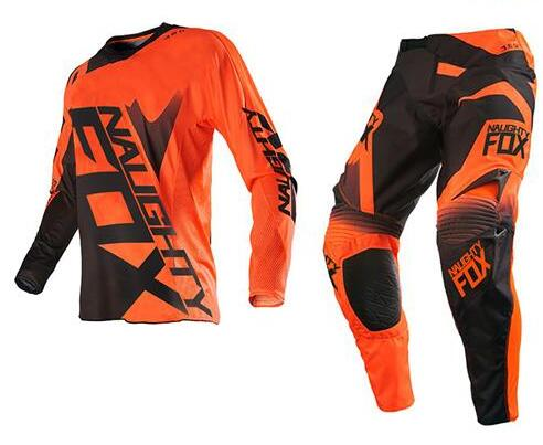 Free Shipping 2017 360 Racing Jersey Pants Combo SHIV Motocross Motorbike Dirt Bike Offroad Cycling Racing Gear Set Orange Black
