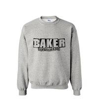 Famous Brand Skateboard Baker Streetwear Man Hoodies 2015 New European Style Sweatshirt Sportswear Moleton