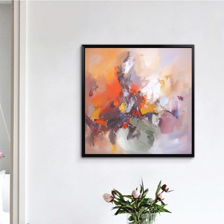 Yağlı rəsm kətan Orijinal əl ilə boyanan müasir divar - Ev dekoru - Fotoqrafiya 2