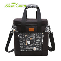 KINNET Cooler Bag Beer Ice Pack Lunch Picnic Bag 20L Insulated Thermal Oxfod Material Cooler Bag for Food Storage Ice Bag