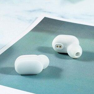 Image 4 - Xiaomi mi AirDots TWS słuchawki Bluetooth bezprzewodowe słuchawki douszne słuchawki douszne z mikrofonem i ładowarką wersja młodzieżowa