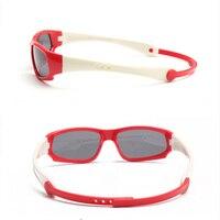 RILIXES не легко ломаются дети TR90 поляризованных солнцезащитных очков Безопасность детей бренд очки Гибкая резиновая culos Infantil