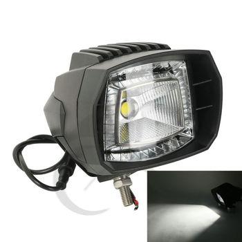 LED Work Light Low Spot Beam For Harley Honda Suzuki Ford Jeep Chevrolet Trucks