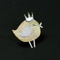 Silver brooches for women Girl's pins Animal Brooch cute pin High grade Jewelry creative brooch bowties lady women accessories
