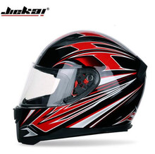JIEKAI Motocross Helmet Men Motorcycle Full Face Helmets Anti-fog Chopper Racing Filp Up Biker Riding Casco