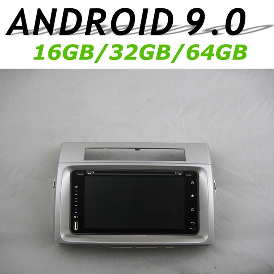 Navirider GPS Navigation Headunit pour Toyota Verso 2006 pleine touche voiture android 9.0 8 core 64 gb rom radio bluetooth lecteur stéréo