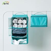 SYTH Fashion Portable Hanging Women Men Clothes Bag Waterproof Sundries Travel Organizer Washing Toiletry kit Wash Storage Bag