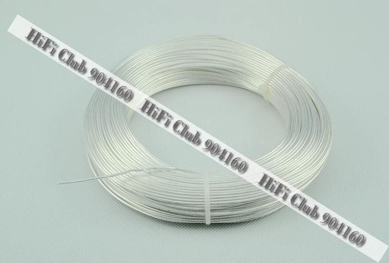 HiFi Club OCC hiend Silver Plated wires with Teflon audio cable ...