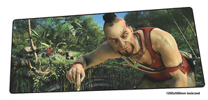 far cry mouse pad gamer High quality 120x50cm notbook mouse mat gaming mousepad big pad mouse PC desk padmouse