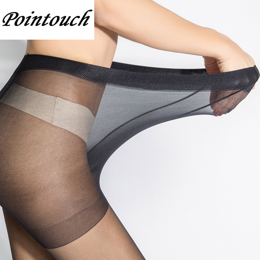 Buy POINTOUCH Sexy Summer Breathable Thin Tights Stretchy Stockings High Elastic Prevent Hook Women Pantyhose Girl Medias Panty-hose
