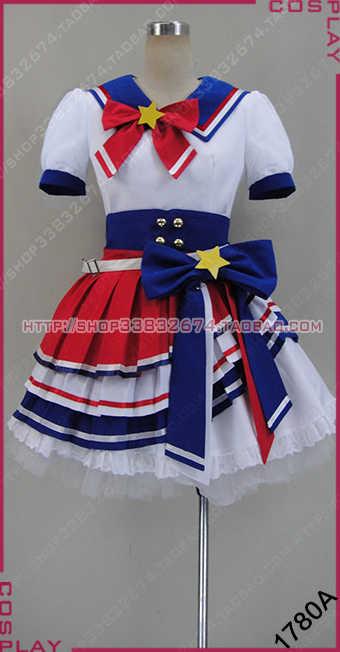 Collezione! Anime Minami Puripara Mirei Rara Torres Sophie Todoshi Leona SJ Hibiki uniform set Completo costume cosplay New freeship