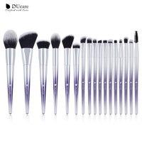 DUcare 17 шт. кисти для макияжа Набор тональный порошок тени для век кисти для макияжа косметический набор
