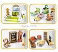 Дети 3D пазлы 10 шт. животные мебель мультфильм головоломки автомобиля головоломки обучения и обучающие игрушки, бесплатная доставка
