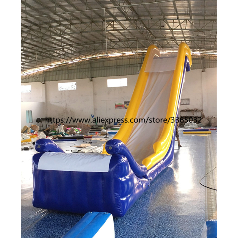 Popular giant inflatable yacht water slide inflatable yacht floating water slide in Inflatable Bouncers from Toys Hobbies