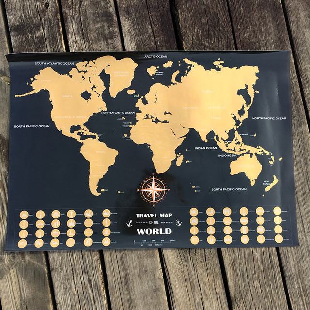 Travel adventure world maps black gold easy foil layer coating travel adventure world maps black gold easy foil layer coating poster personalized world map home wall gumiabroncs Choice Image