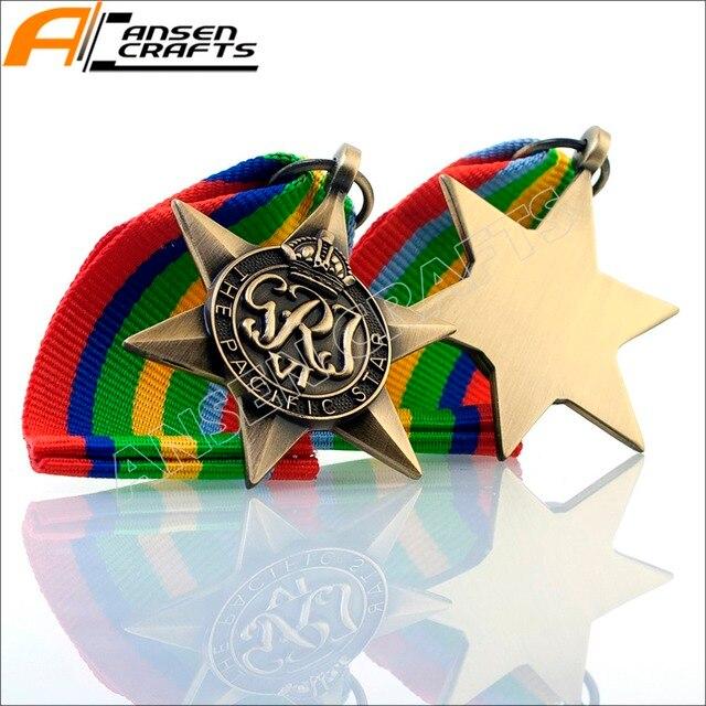 Étoile de Bronze arctique pour équipage atlantique | 1939, pour Europe, Africa pacifique, birmanie, italie, France et allemagne, médaille de Bronze arctique