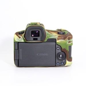 Image 2 - Funda de silicona para Canon EOSR cuerpo Protector de la cubierta de silicona suave cuerpo Protector de goma de cámara caso piel para Canon EOS R