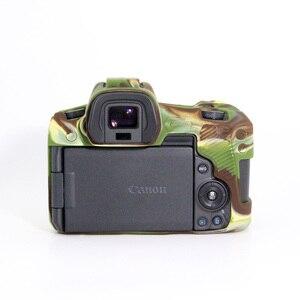 Image 2 - Silicone Trường Hợp đối với Canon EOSR Cơ Thể Bìa Bảo Vệ Mềm Silicone Cao Su Bảo Vệ Máy Ảnh Cơ Thể Trường Hợp Da cho Canon EOS R