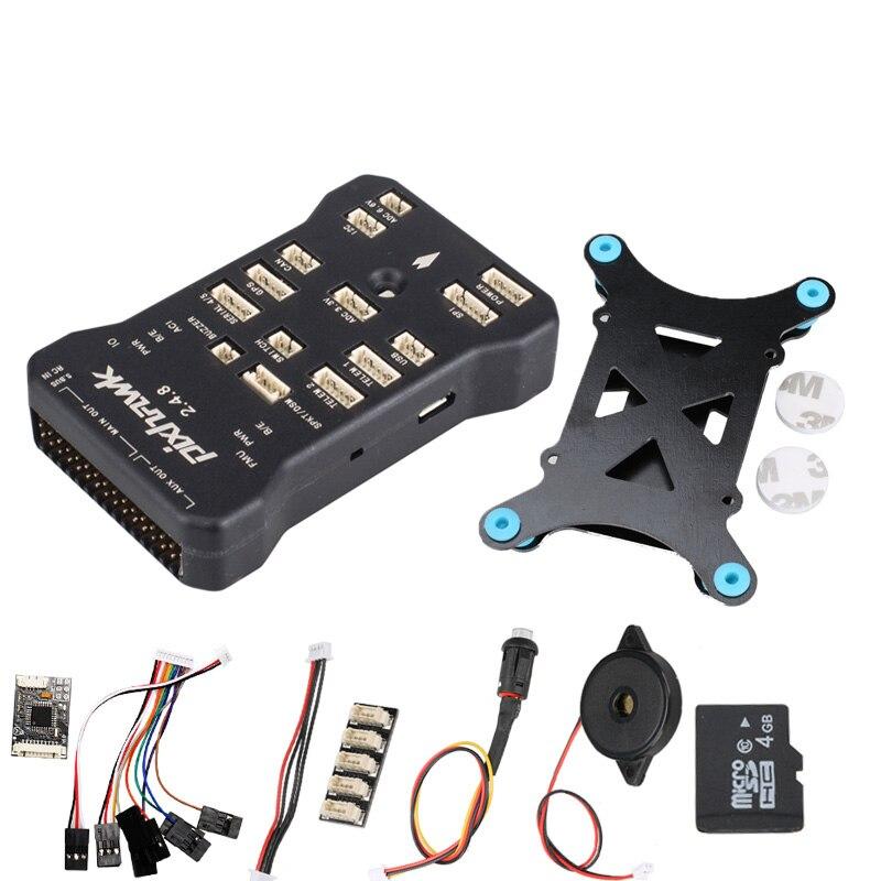 Pixhawk PX4 Autopilot PIX 2.4.8 32 Bit kontroler lotu z przełącznik bezpieczeństwa i brzęczyk 4G SD i I2C Splitter rozwinąć moduł w Części i akcesoria od Zabawki i hobby na  Grupa 1