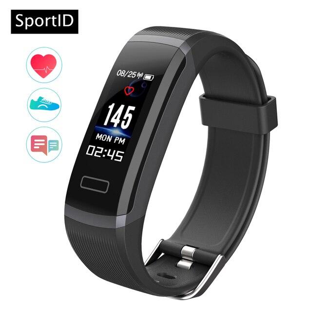Smart Bracelet Woman GT101 Watch Waterproof Men Sport Smartwatch Heart Rate Moni
