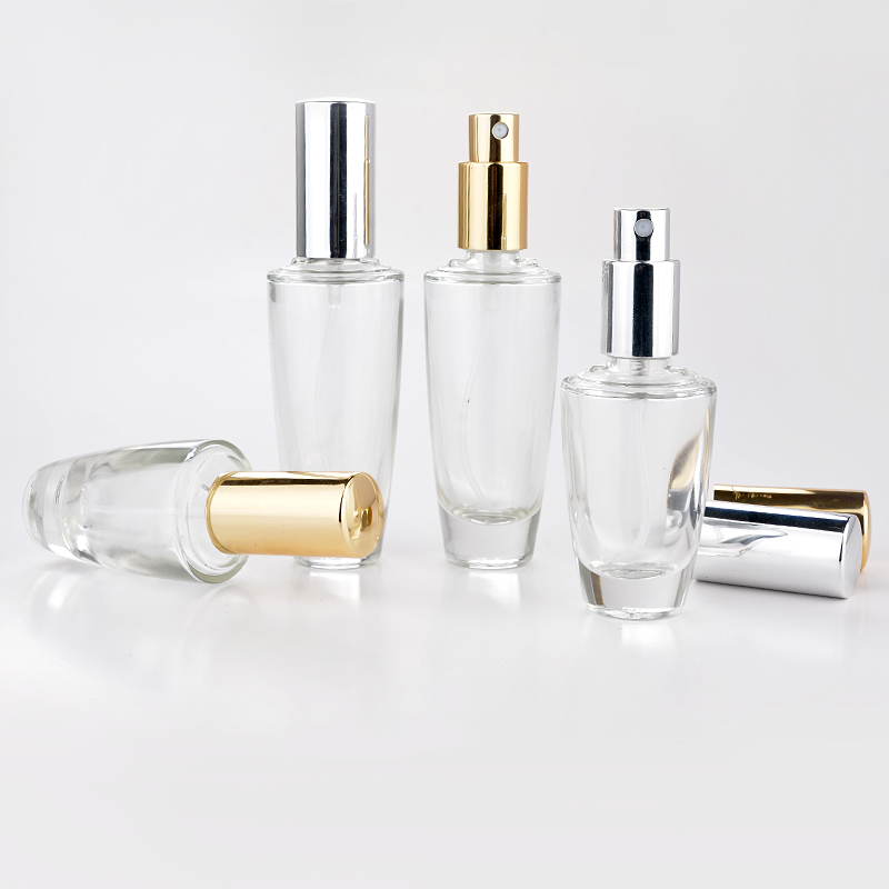 30ML Portable High Quality Glass Refillable Perfume Bottle With Sprayer Empty Parfum Case For Traveler free shipping 1pcs lot 100ml high quality glass perfume bottle with air bag atomizer dispaly parfum bottls for wedding nice gift