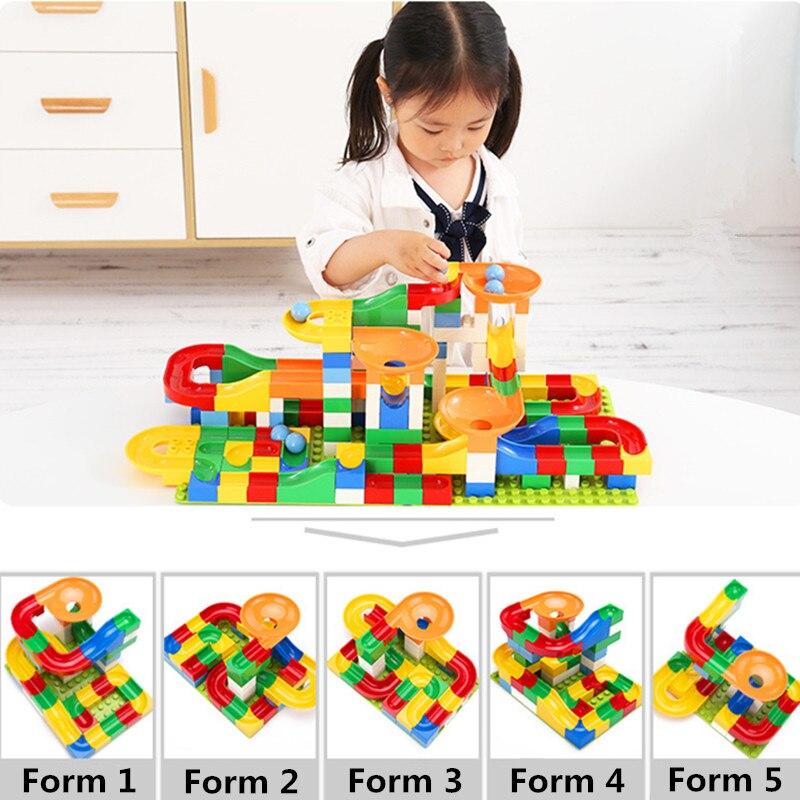 Marble, Legoingly, Slide, Duplo, Race, Funnel