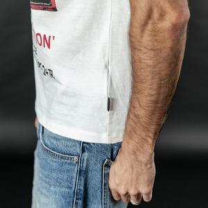 Image 5 - Simwood 2020 夏の新プリントヒップホップの tシャツの男性クール綿ストリート tシャツトップ tシャツ 190313